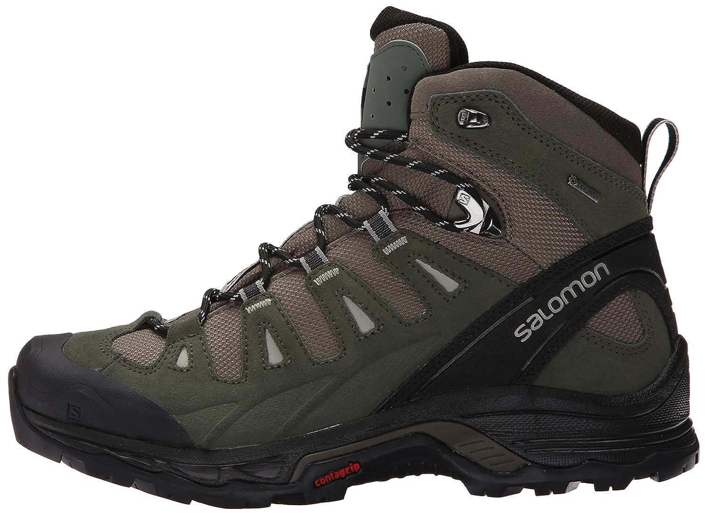 Salomon Herren Quest Prime GTX Trekking-& Wanderstiefel, Wanderstiefel, Wanderstiefel, grau, 49.3 EU 637461
