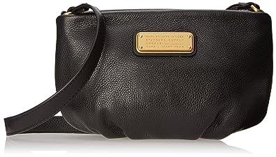 08db2626de7a Marc Jacobs Womens New Q Percy Cross-Body Bag Black  Amazon.co.uk ...
