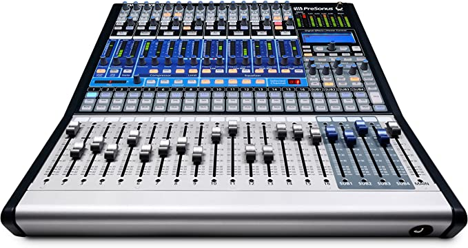 Mesa de mezclas digital presonus studio live 16 en: Amazon.es ...