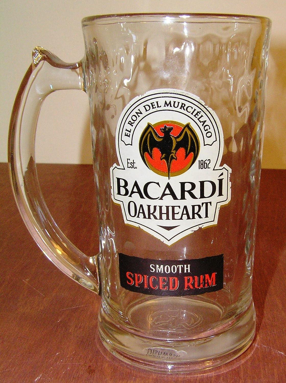 Bacardi Oakheart - Taza (cristal), diseño de corazón