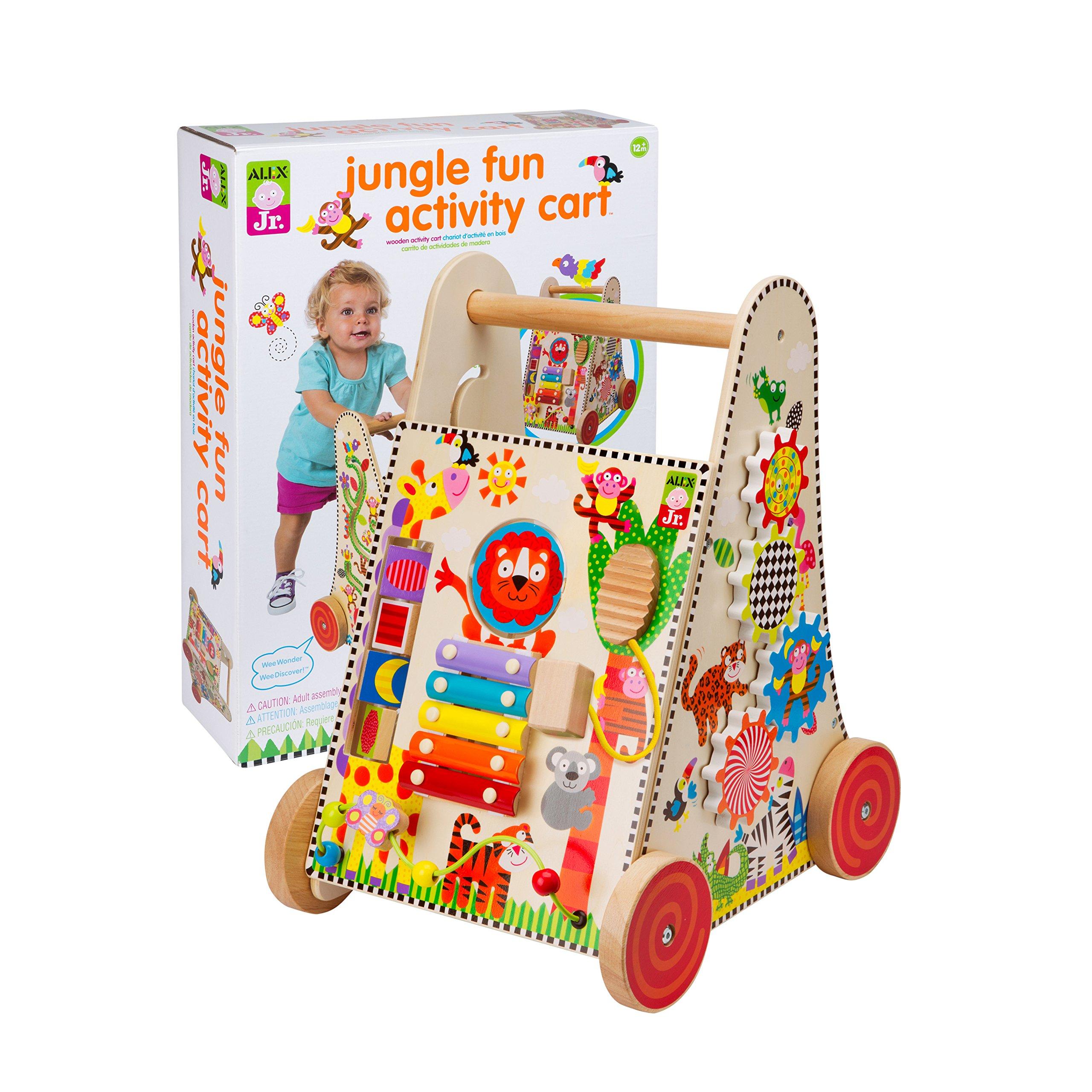ALEX Jr. Jungle Fun Activity Cart