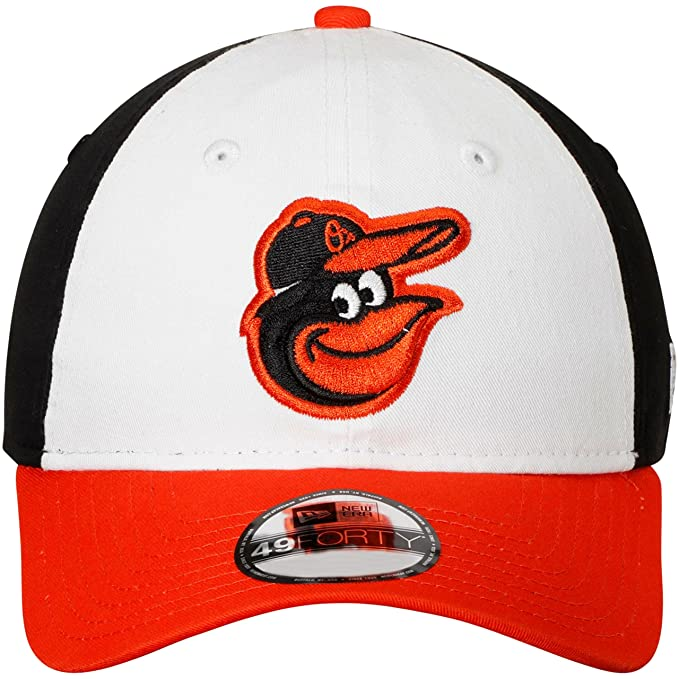 e6b67f3d248 Amazon.com   New Era Baltimore Orioles Fitted Size Medium Tri-Color  Throwback Hat Cap - 7 1 8 or 7 1 4   Sports   Outdoors