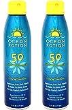 Ocean Potion Protect & Nourish Sunscreen Spray, SPF 50 6 oz (Pack of 2)