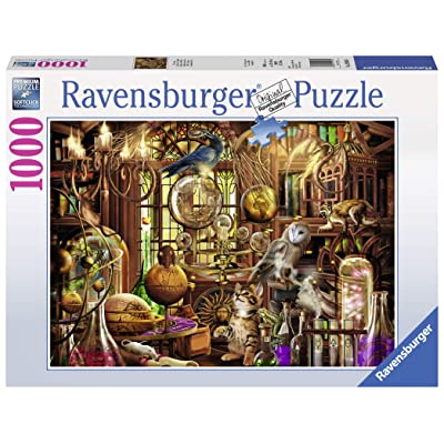 Ravensburger Merlin's Laboratory-1000 Piece Jigsaw Puzzle: Toys & Games