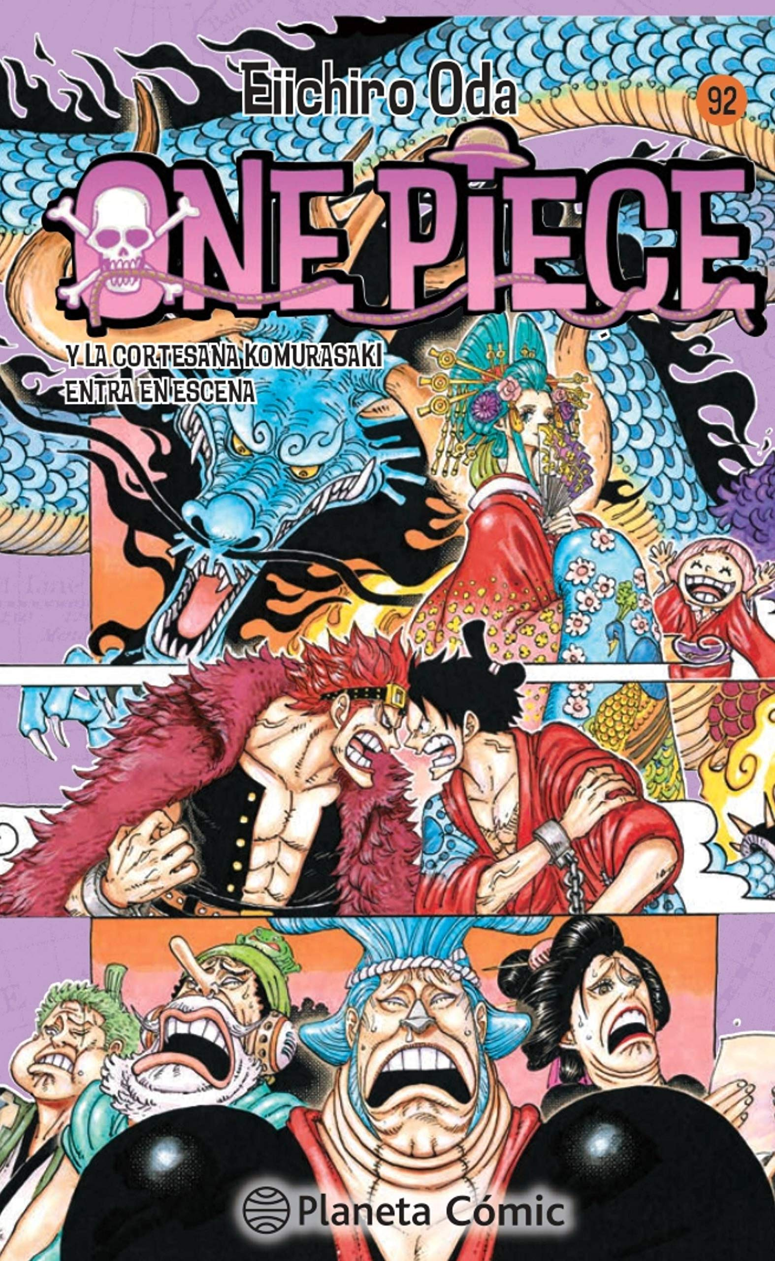 One Piece nº 92: Y la cortesana Komurasaki entra en escena Manga Shonen: Amazon.es: Oda, Eiichiro, Daruma: Libros