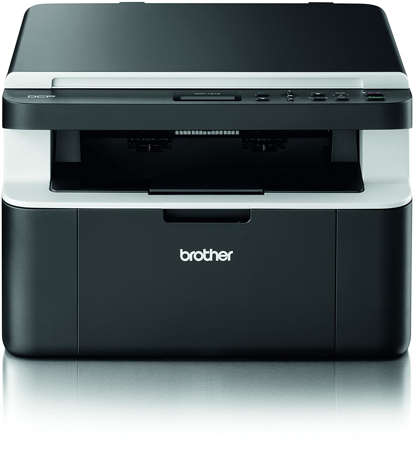 Brother DCP-1512 MFP Stampante Laser, A4, Nero DCP1512G1
