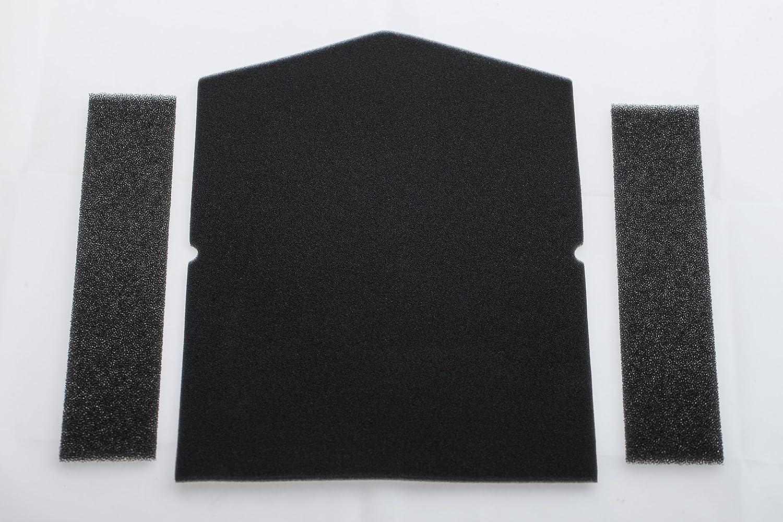 1 x door, 2 x Filter Einf/üllring 7358901 No Miele Filter for Filter W/ärmepumpentrockner