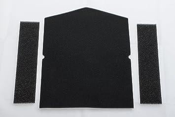 Miele filter für wärmepumpentrockner 1 x filter tür 2 x filter