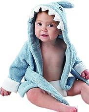 Baby Aspen Bata para baño con capucha tipo spa Azul 0-9 meses