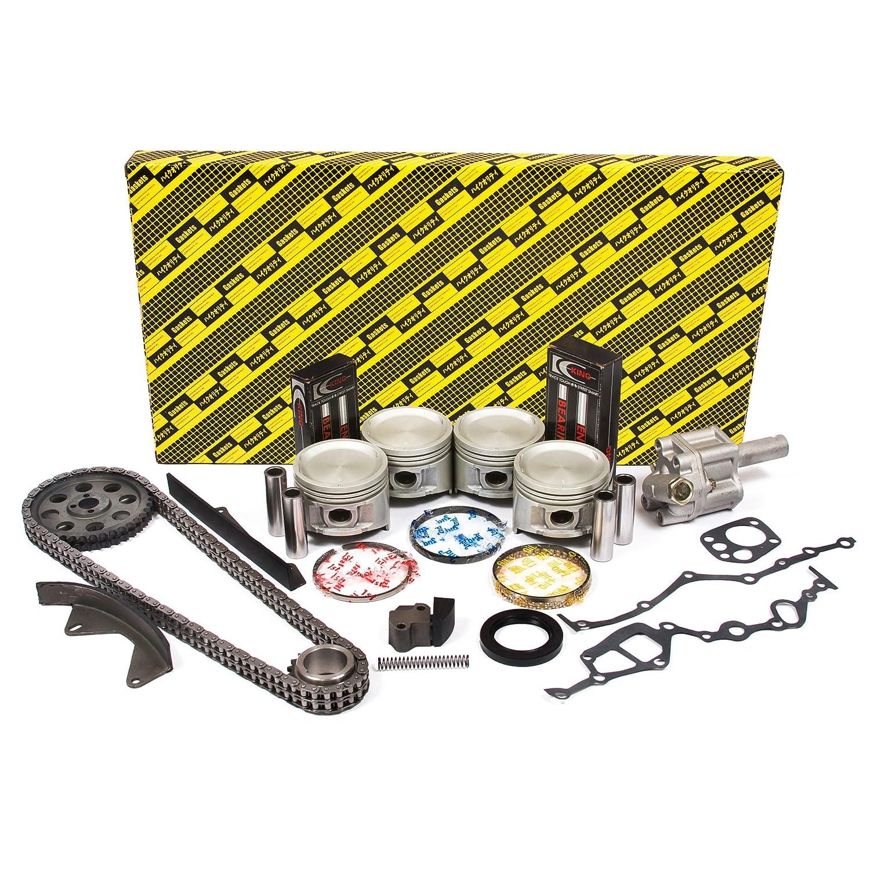 Amazon.com: OK3001/0/0/0 83-88 Nissan 720 D21 Pathfinder 2.4L SOHC Z24  Engine Rebuild Kit: Automotive