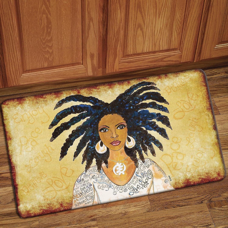 IFM112 Floor Mat Shades of Color Nubian Queen