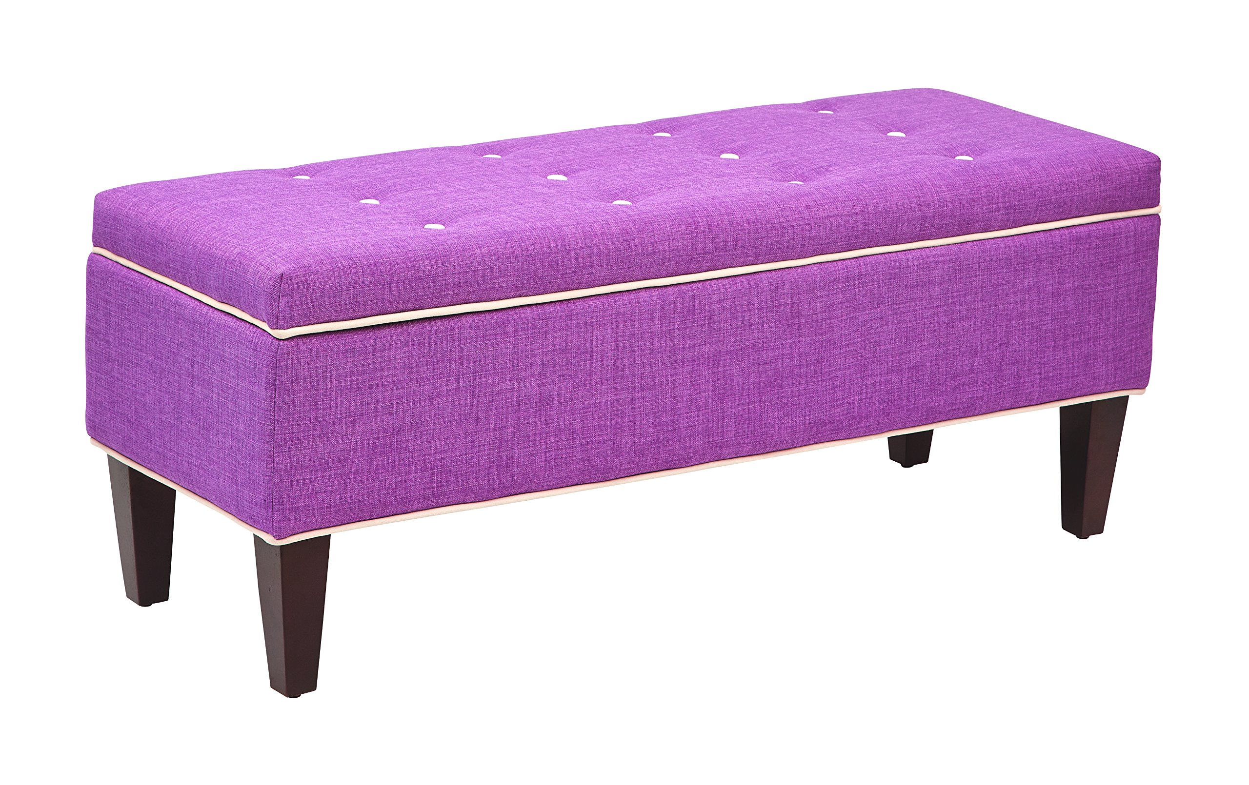 OSP Accents Cambridge Storage Bench, Milford Dahlia