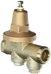 "Zurn 1-600XL Wilkins Water Pressure Reducing Valve 1"" Lead Free"