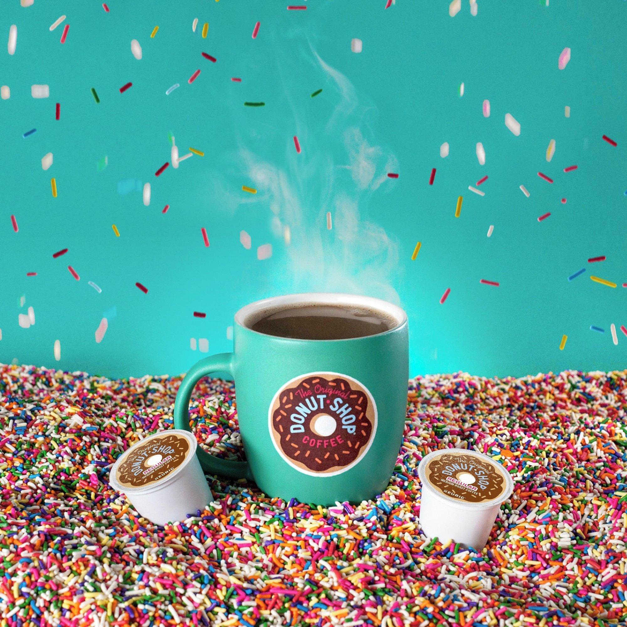 The Original Donut Shop Coffee, Regular Medium Roast, K-Cup Portion Count for Keurig Brewers 24-Count (Pack of 4) by The Original Donut Shop (Image #8)