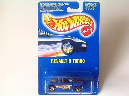 Hot Wheels Renault 5 Turbo Blue #9749 Euro Card