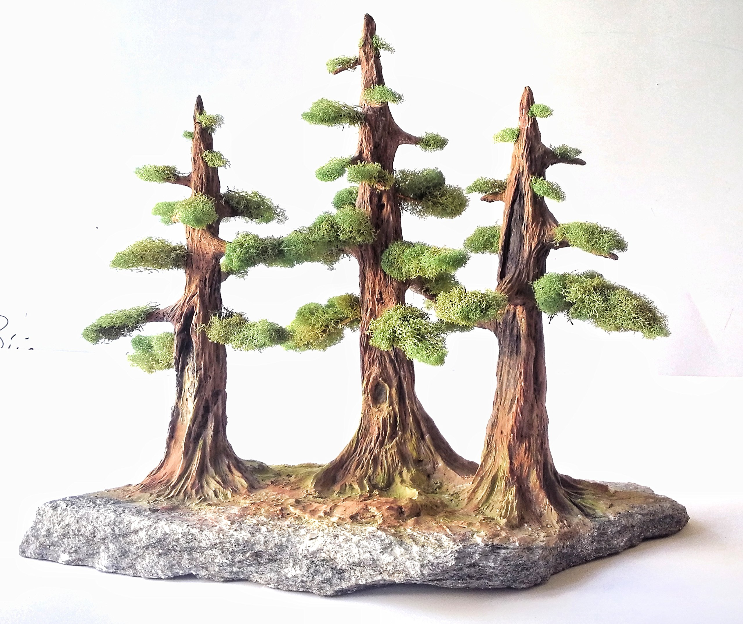 Artificial Bonsai Tree - 3 Bonsai Trees Set - Very Realistic Bonsai Tree