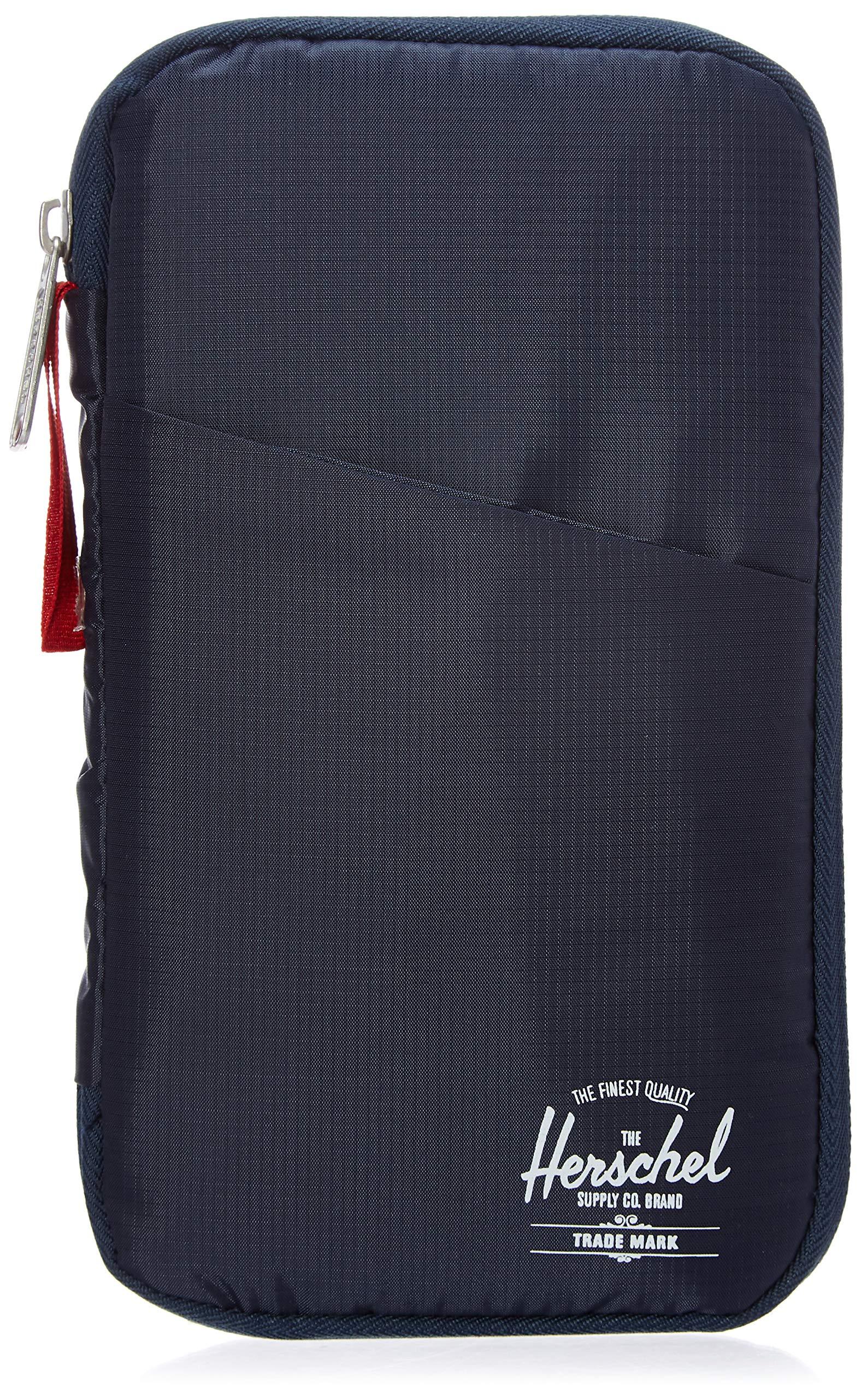 Herschel Travel Wallet, Navy/Red by Herschel