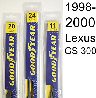 "product image for Lexus GS 300 (1998-2000) Wiper Blade Kit - Set Includes 24"" (Driver Side), 20"" (Passenger Side) (2 Blades Total)"
