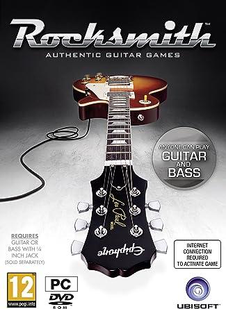 Rocksmith - incluye cable Real Tone (PC DVD) [Importación inglesa ...