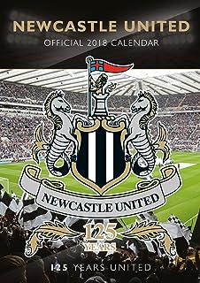 f919dd77a Newcastle United F.C Official 2018 Calendar - A3 Poster Format Calendar  (Calendar 2018)