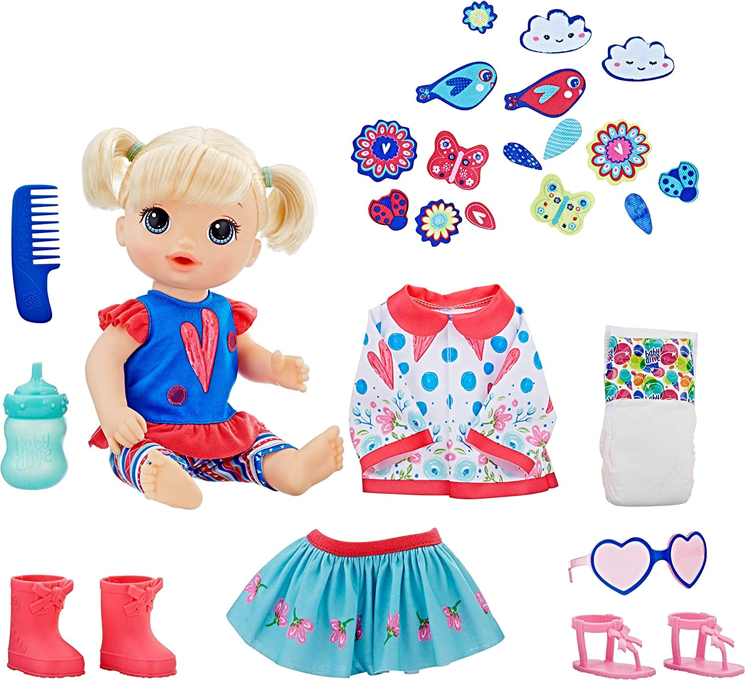 New Baby Alive So Many Styles Baby Drinks And Pees Blonde Hair