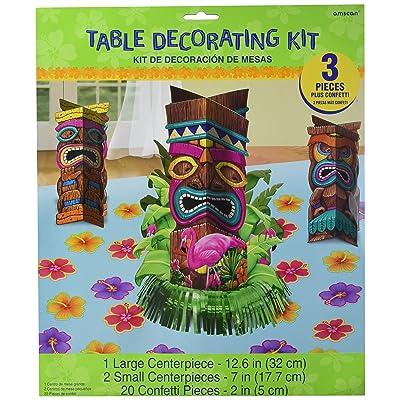 amscan Tiki Party Table Decorating Kit: Kitchen & Dining