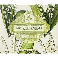 Naturally European Aromas Artesanales De Antigua (AAA) Travel Collection, Lily of the Valley, 3 ct