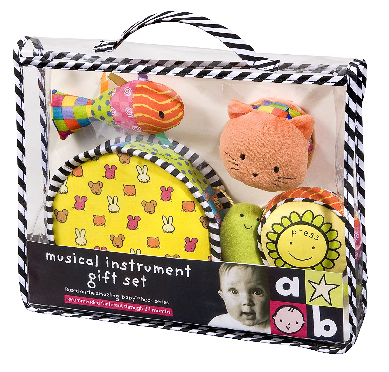Amazing Baby Musical Instrument Set by Amazing Baby Kids Preferred