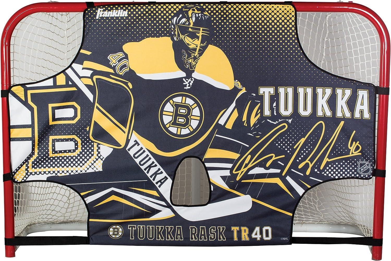 "Franklin Sports Tuukka RASK Tuukka Rask - Tuukka Tutor Hockey Shooting Target - Shooter Tutor Fits 72"" Goal - NHL Official Licensed Product : Sports & Outdoors"