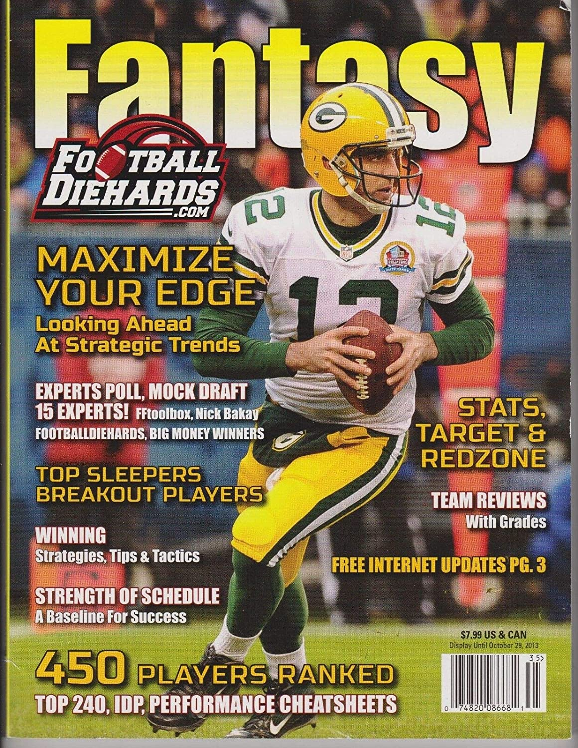 Amazon Com Fantasy Football Diehards Magazine 2013 450 Players Ranked Top 240 Cheatsheets Everything Else Fftoolbox.com is a moderately popular website with approximately 123k visitors monthly, according to alexa moreover, fftoolbox has a decent level of socialization: amazon com