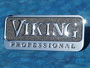 Viking Professional Metal Emblem (4.5 inch with Adhesive Back)