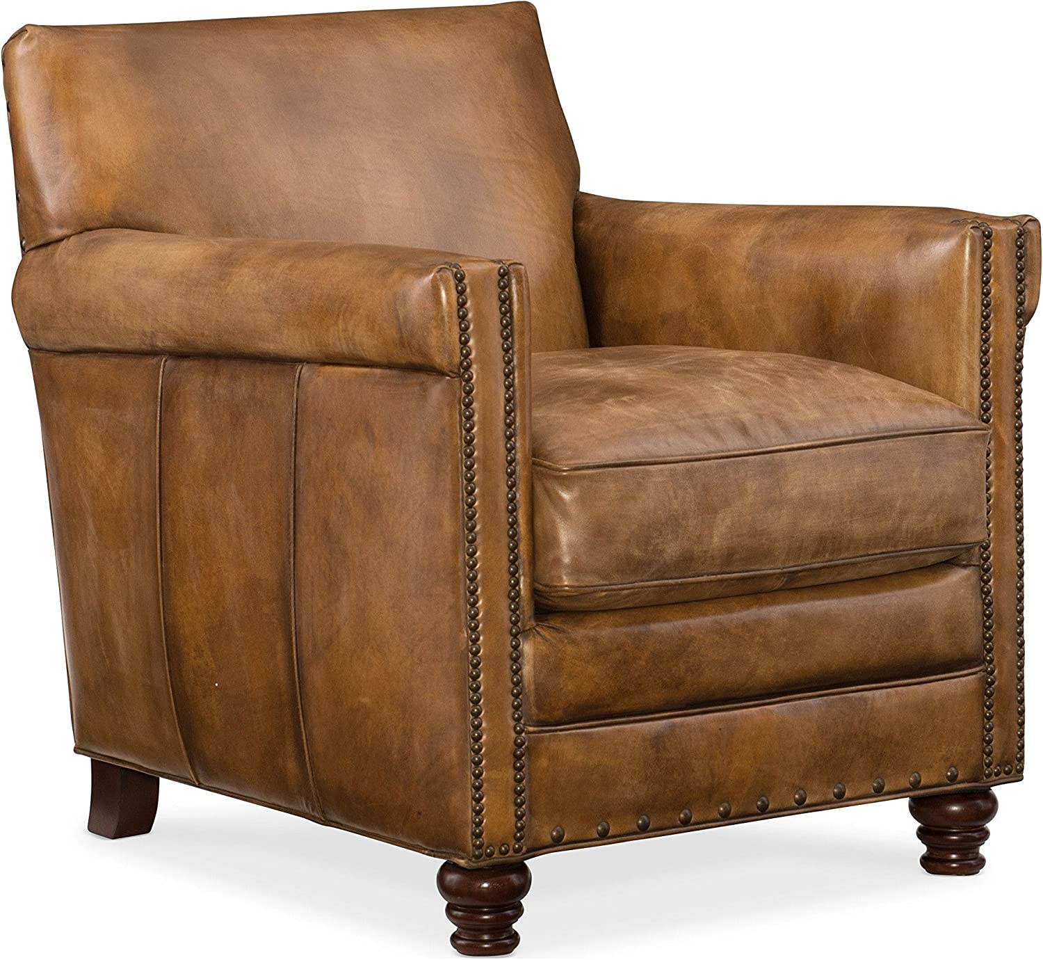 Hooker Furniture Potter Leather Club Chair