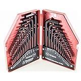 Electronix Express 30 Piece Hex Key Wrench Set-SAE/MM