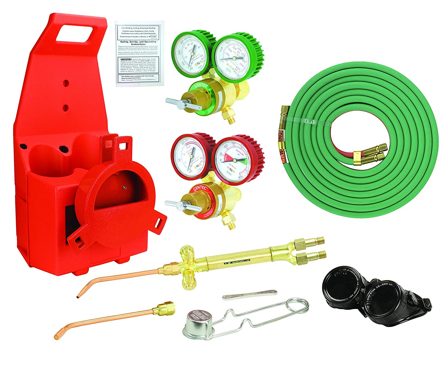 GENTEC KA30MC-T Oxy-Acetylene Outfit - Toolboxes - Amazon.com