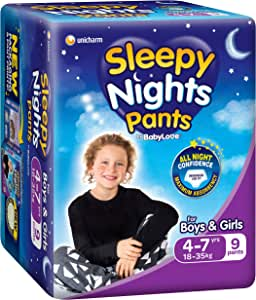 BabyLove SleepyNights 4 - 7 yrs, 18-35kg (9 pack x 3, 27 Total)