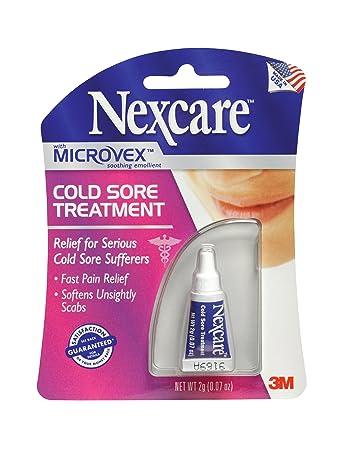 amazon com nexcare cold sore treatment 0 07 ounce health