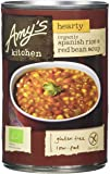 Amy's Kitchen Hearty Spanish Rice and Red Bean Soup 416 g (Pack of 6)