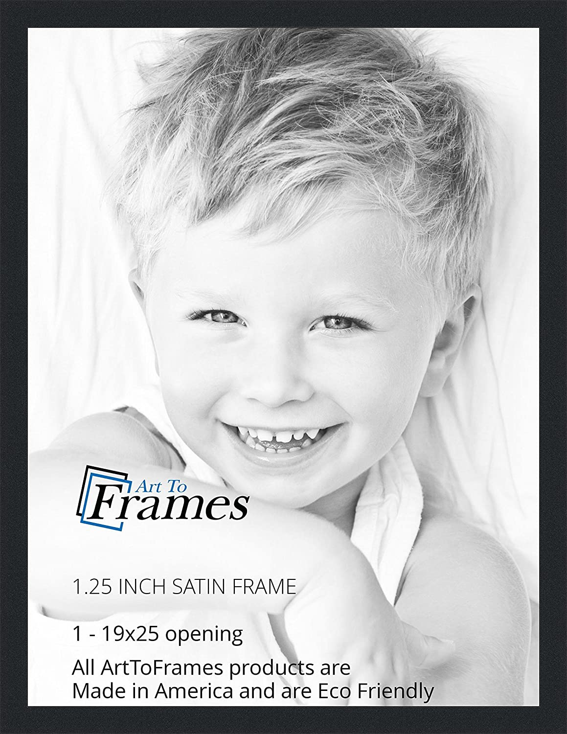 Amazon arttoframes 19x25 inch satin black picture frame amazon arttoframes 19x25 inch satin black picture frame 2womfrbw26079 19x25 single frames jeuxipadfo Image collections