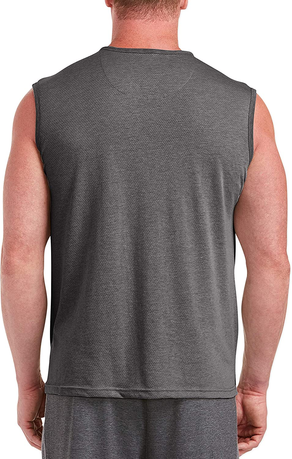 Essentials Mens Big /& Tall Performance Cotton Muscle Tank fit by DXL