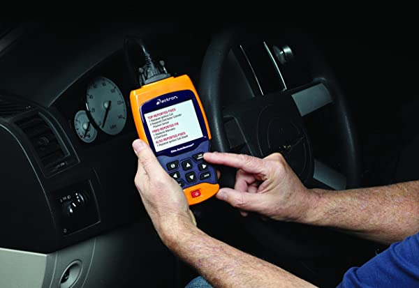 Actron CP9690 diagnostic scanner comes with OBD1 as well as OBD2 cables.