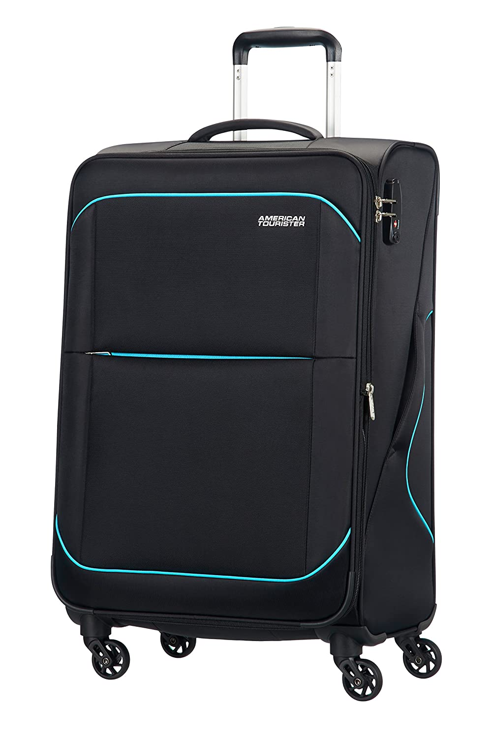American Tourister Sunbeam spinner ruedas  equipaje de mano negro after dark