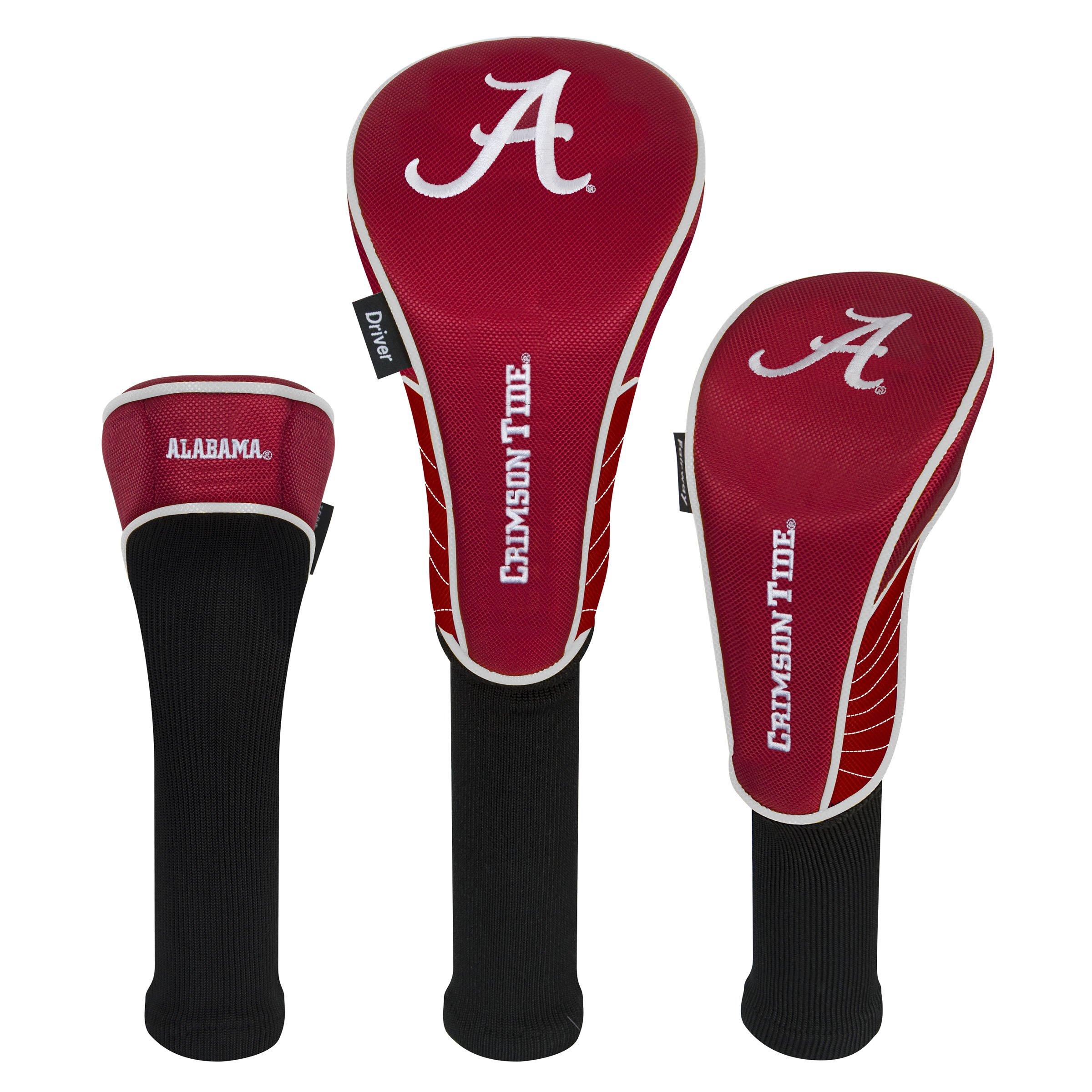 Team Effort Alabama Crimson Tide Set of Three Headcovers