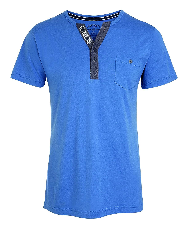 Jockey T-Shirt, Blau, Größe L Größe L 500701H