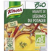 Knorr Soupe Liquide Bio Velouté de Légumes du Potager à la Crème Fraîche 30 cl