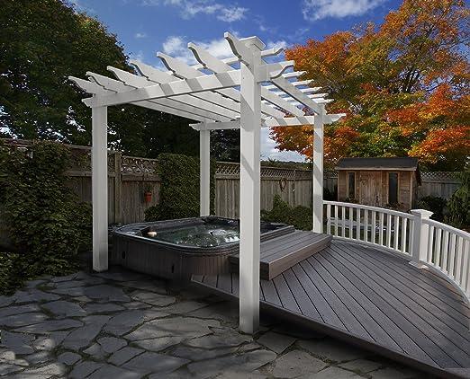 Nueva Inglaterra husillos Portland 8-ft. Pergola: Amazon.es: Jardín