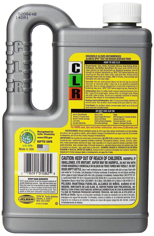 Amazon.com: Jelmar CL-12 Calcium, Lime & Rust Remover, 28-oz ...