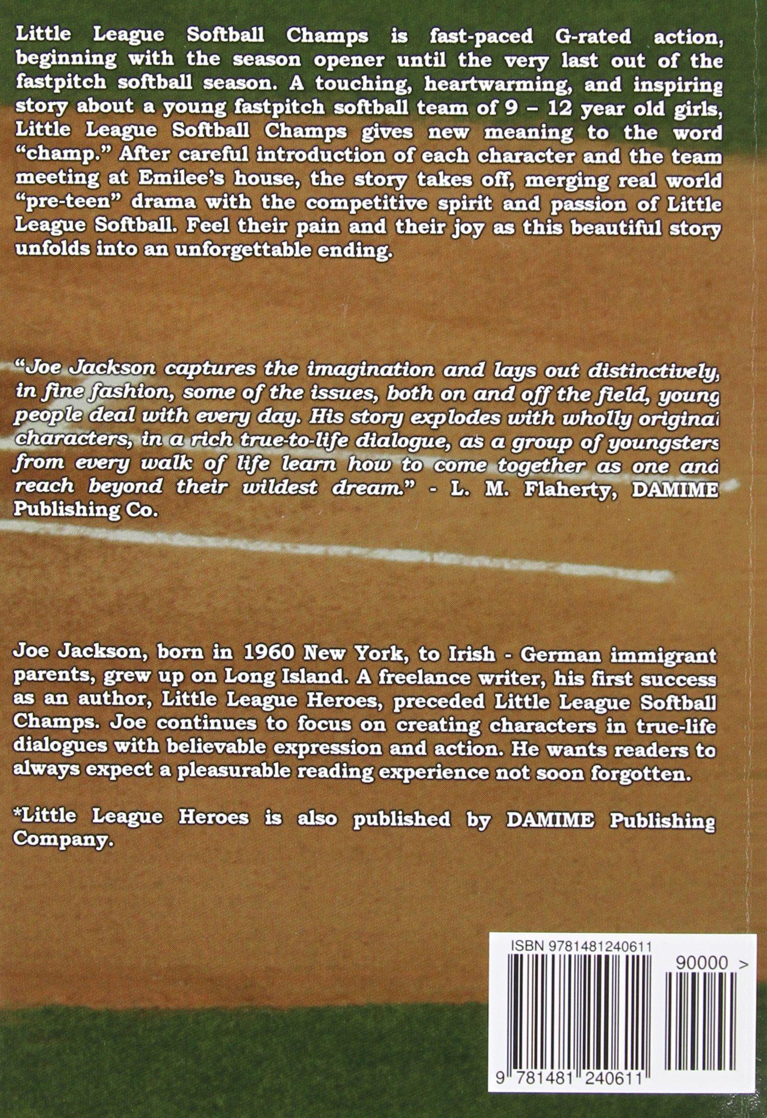 Little League Softball Champs: Joe Jackson: 9781481240611: Amazon ...