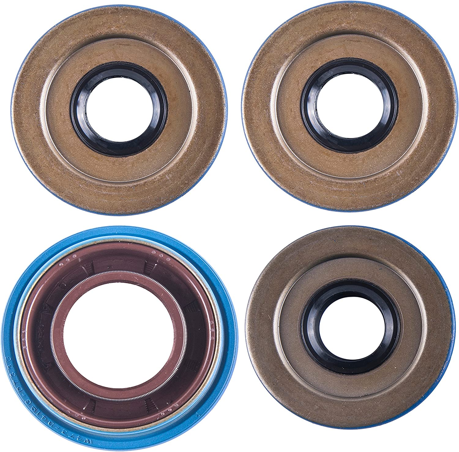 East Lake Axle rear cv axles /& differential seals compatible with Polaris Sportsman 500 Touring//800 HO//X2 2006 2007 2008 2009 2010 2011 2012 2013