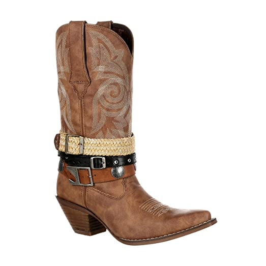 """Crush by Women's 12"""" Accessory Western Boot-DRD0122"""