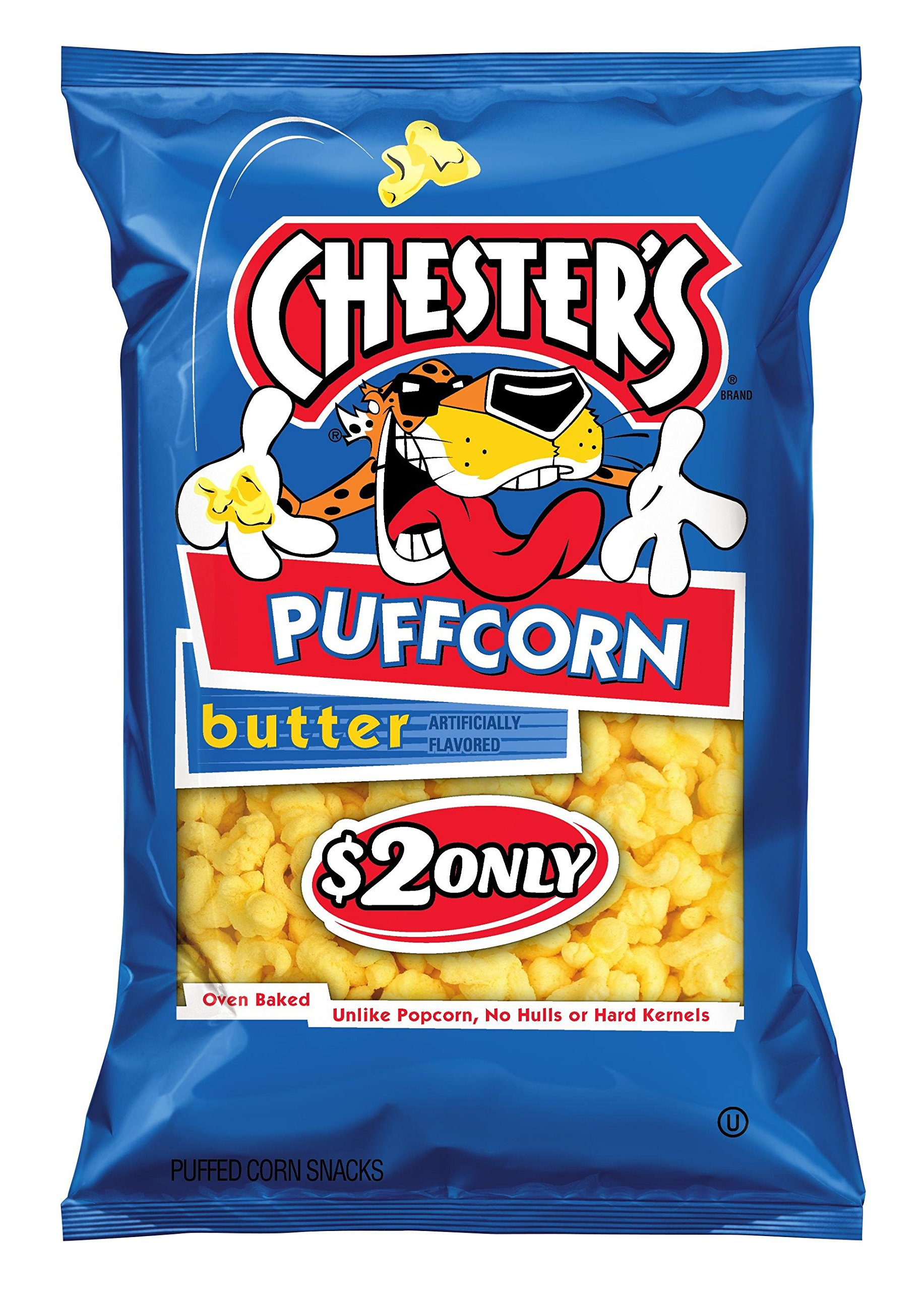 Chester's Puffcorn, Butter, 54 Ounce (Pack of 12) by Chesters (Image #1)